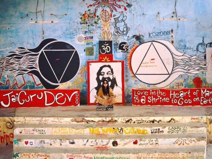 beatles ashram rishikesh