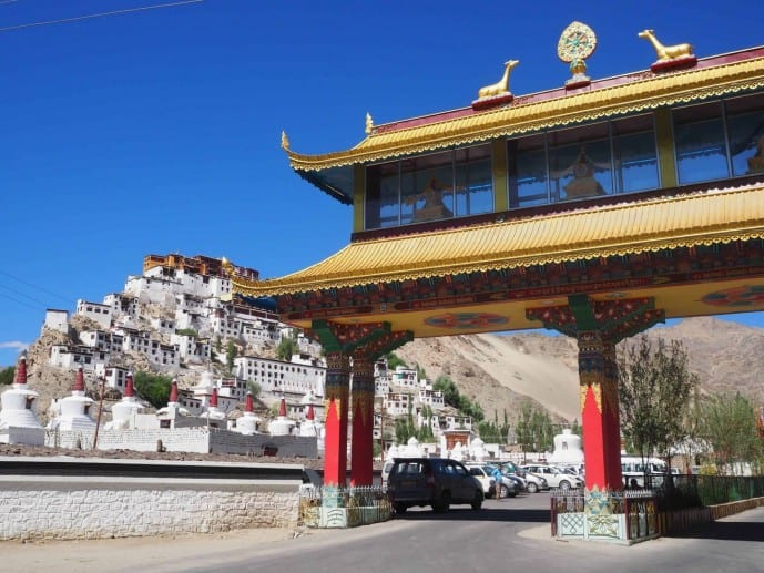 ladakh thikse monastery