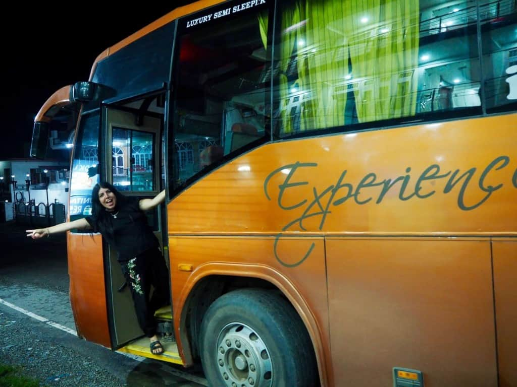 overnight bus travel tips