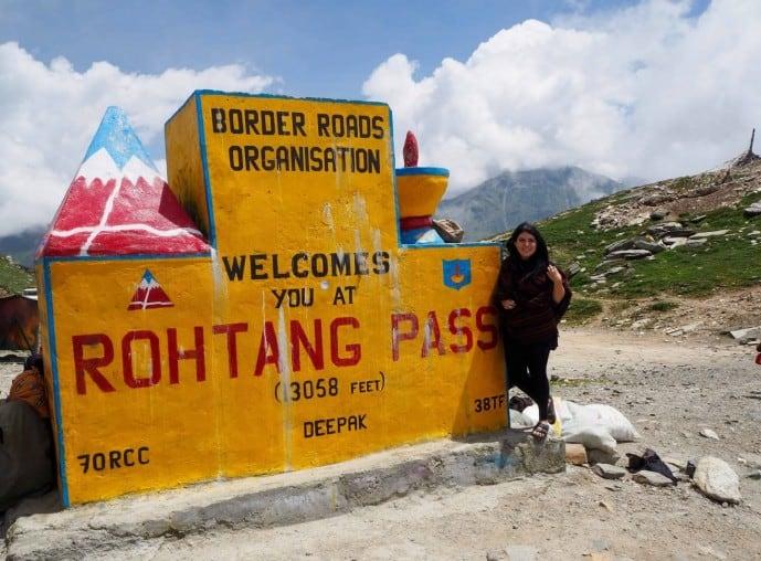 rohtang pass dangerous road