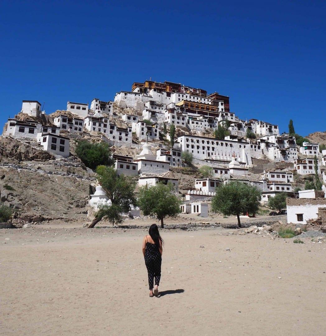 thiksey monastery ladakh | ladakh off the beaten track