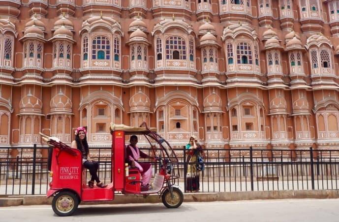 pink city rickshaw company