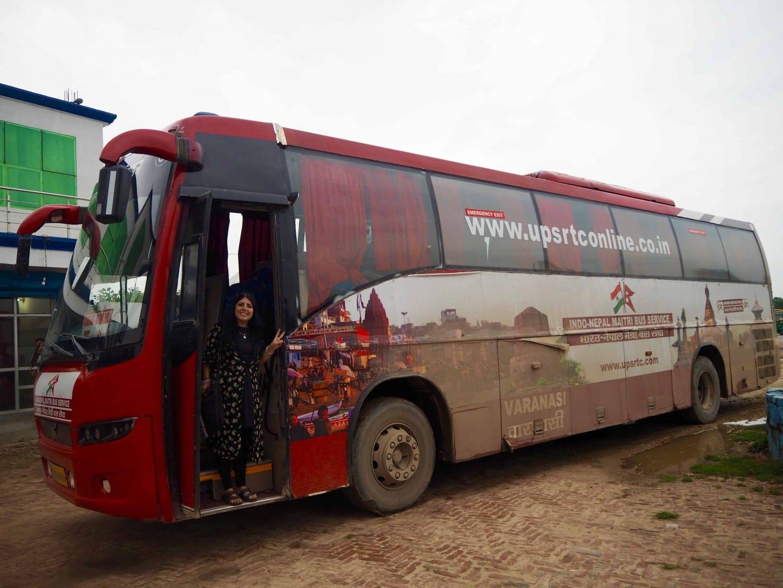 varanasi to kathmandu direct bus