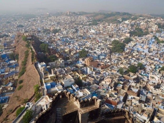 blue city of jodhpur in India