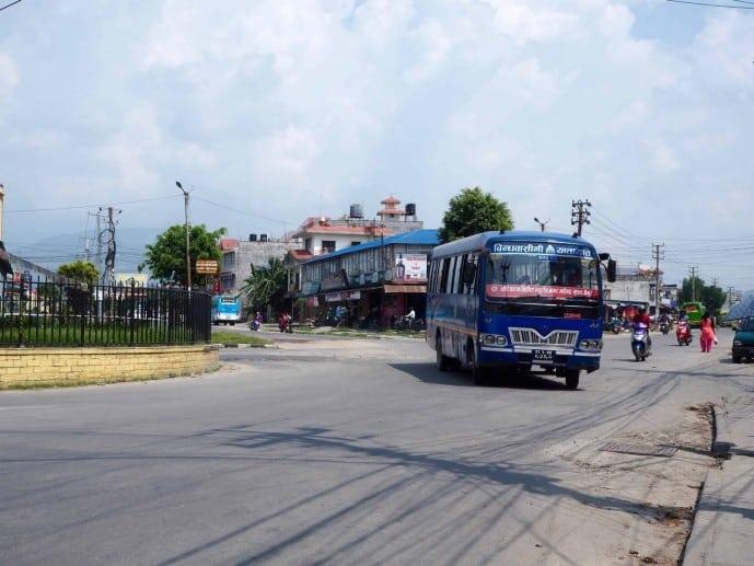 bus travel in nepal