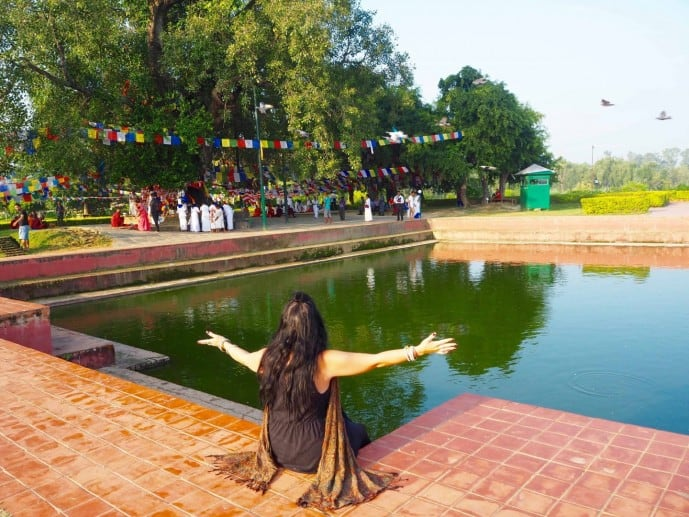 travel guide to lumbini