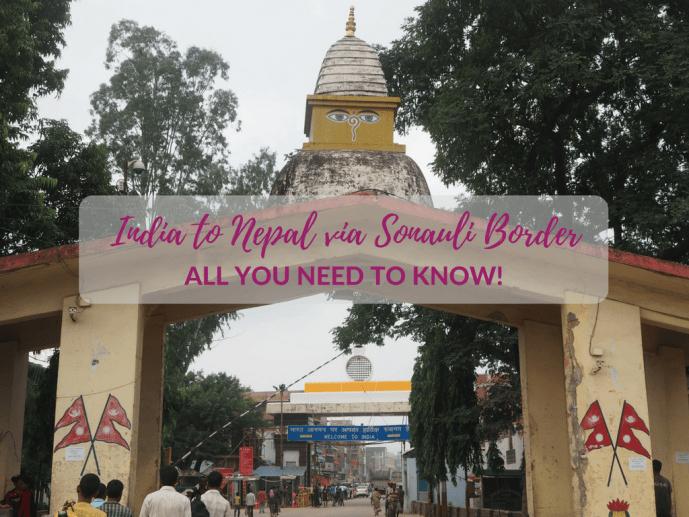 india nepal sonauli border