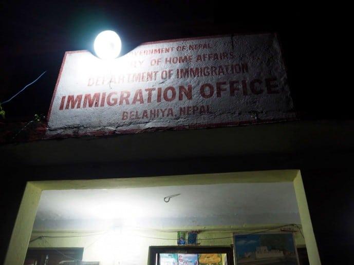 sunauli border