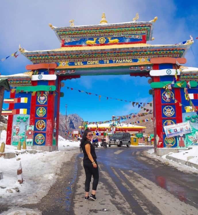 sela pass to tawang road