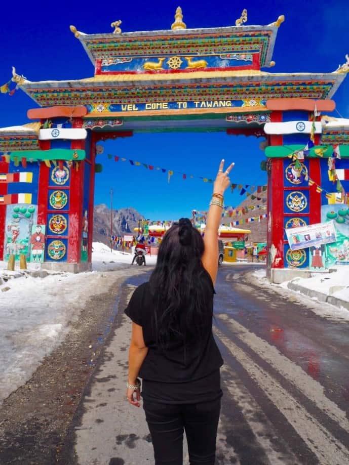 sela pass to Tawang