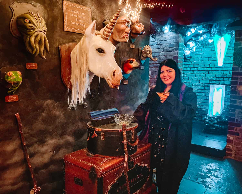 The Cauldron London Harry Potter Cocktail Bar Potions