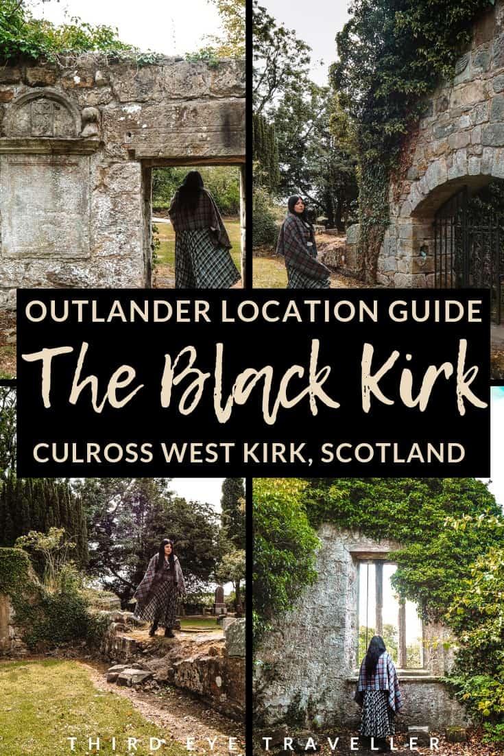 culross west kirk black kirk outlander location