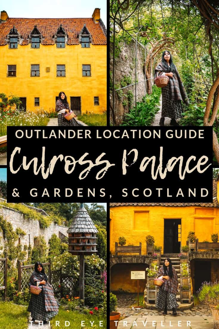 Culross Palace Outlander Location Culross Palace Gardens Outlander
