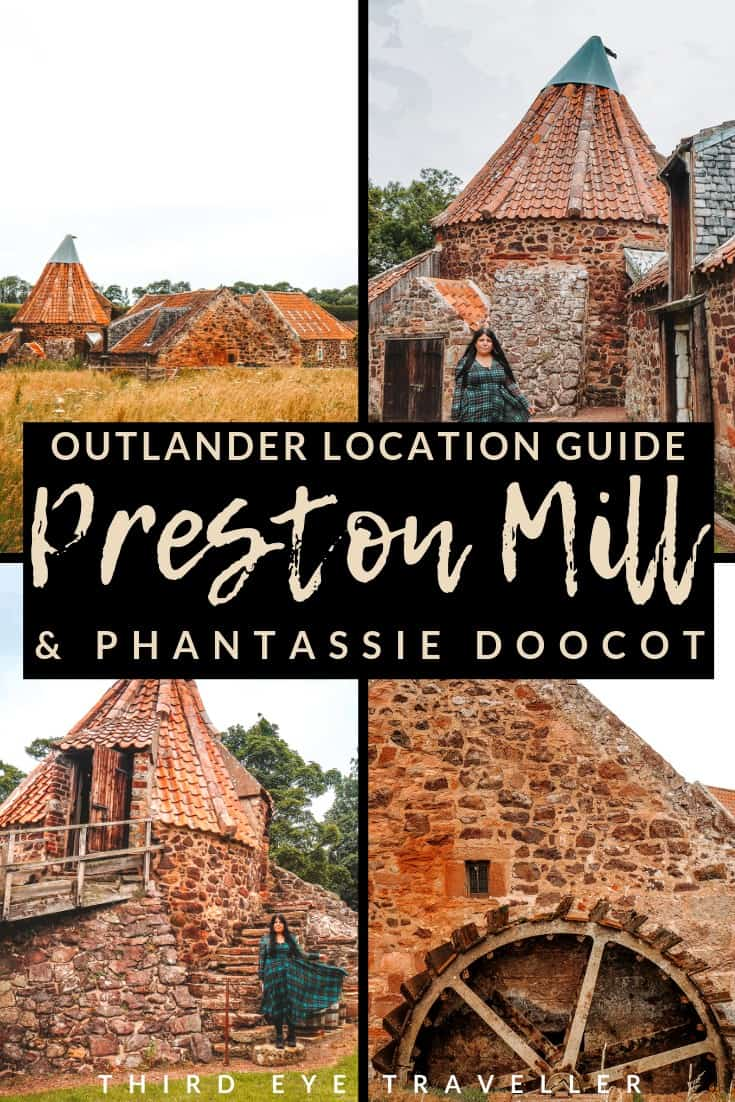 preston mill outlander location waterwheel lallybroch mill