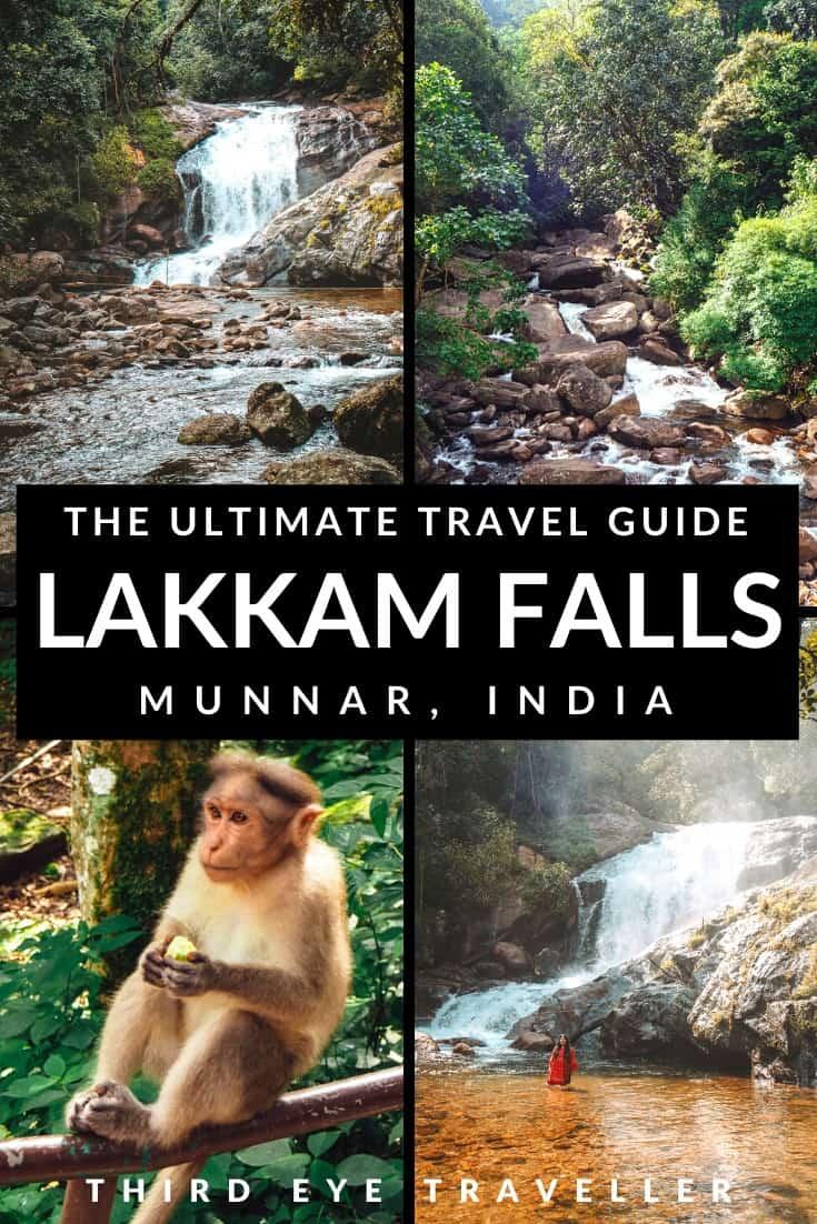 Lakkam Waterfalls Munnar Kerala