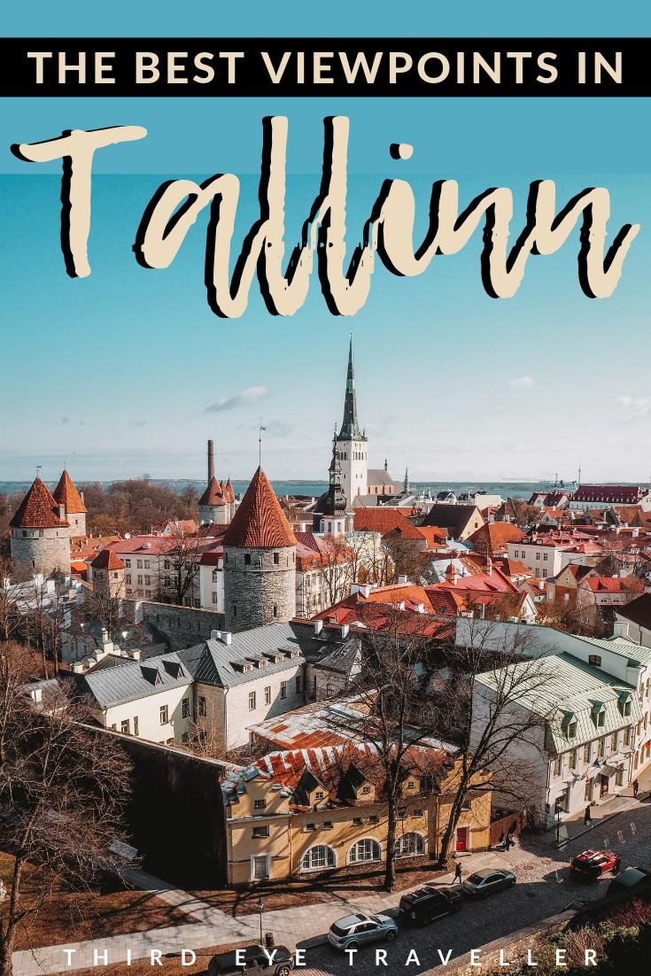 The best Tallinn Viewpoints