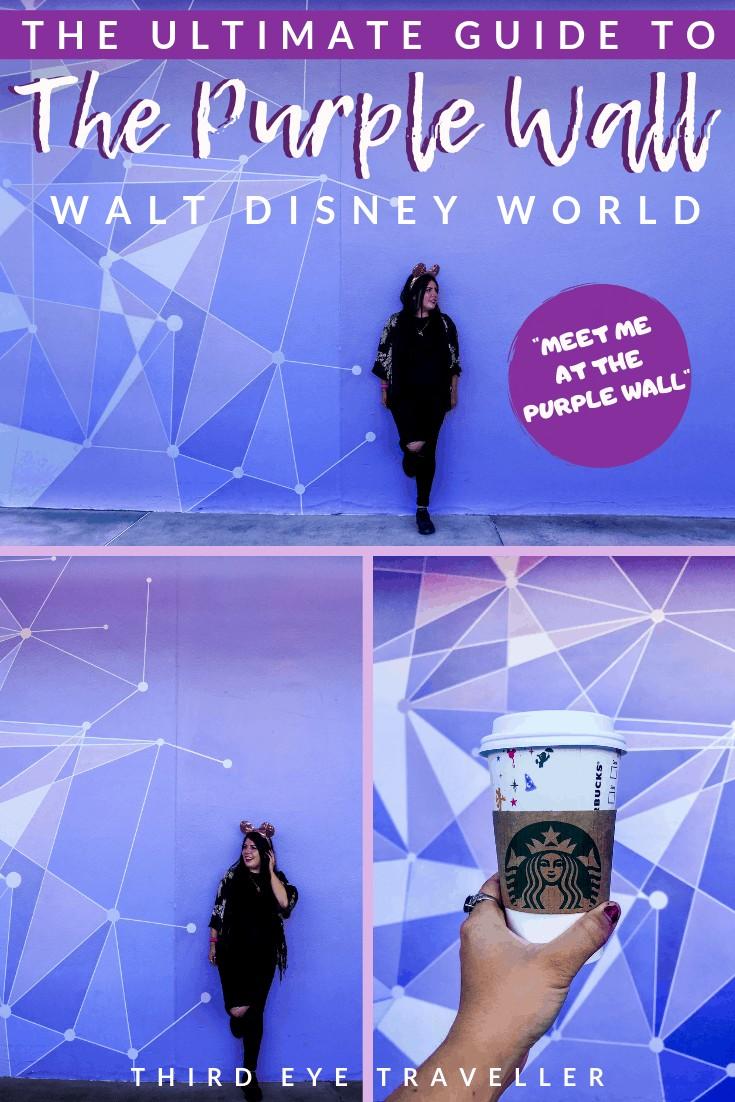 the purple wall disney