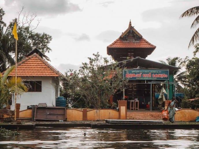 Alleppey backwaters of Kerala