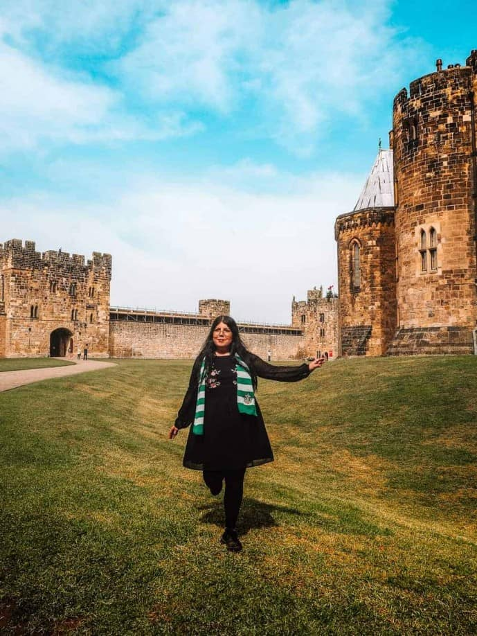 Alnwick Castle Harry Potter film locations