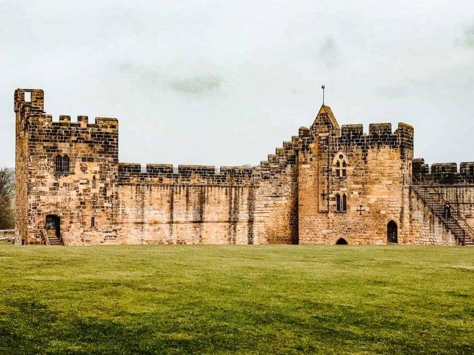 Alnwick Castle Inner Bailey