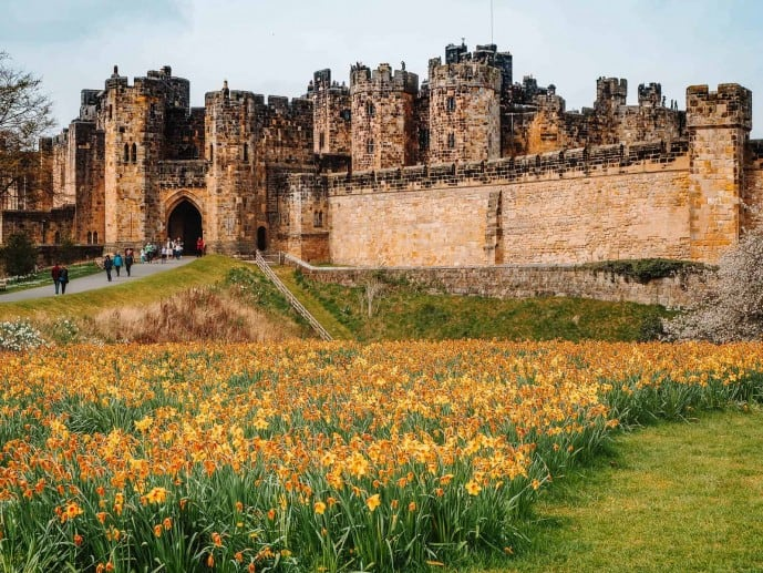 Lion Arch Alnwick Castle
