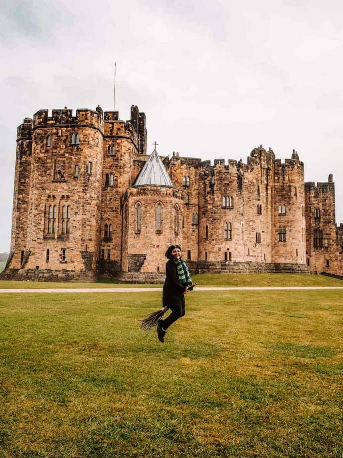 Alnwick Castle Harry Potter Broomstick lesson