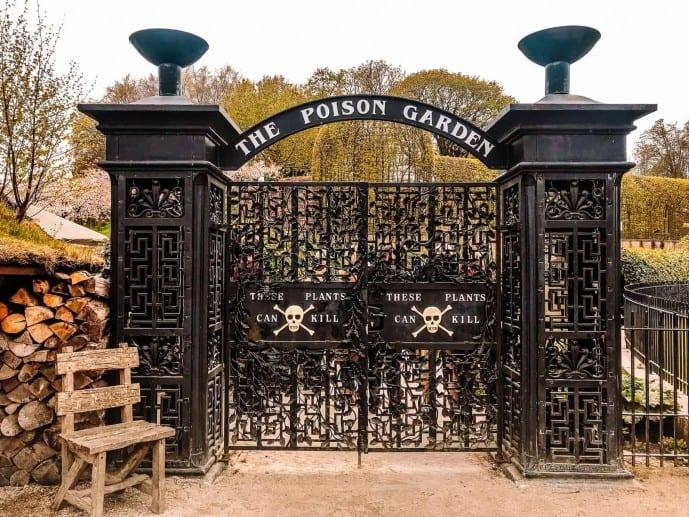 Alnwick Poison Garden Gate