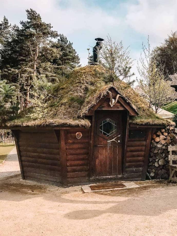 Alnwick Garden witches hut