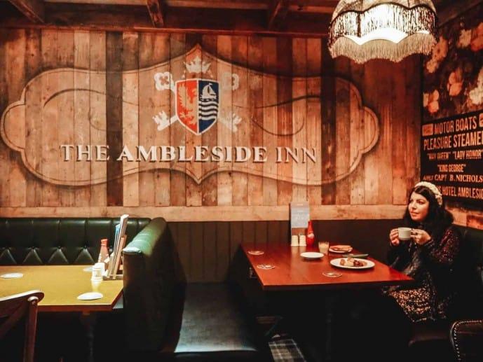 the Ambleside Inn Breakfast
