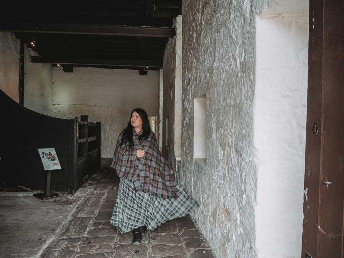 Arberdour Castle stables