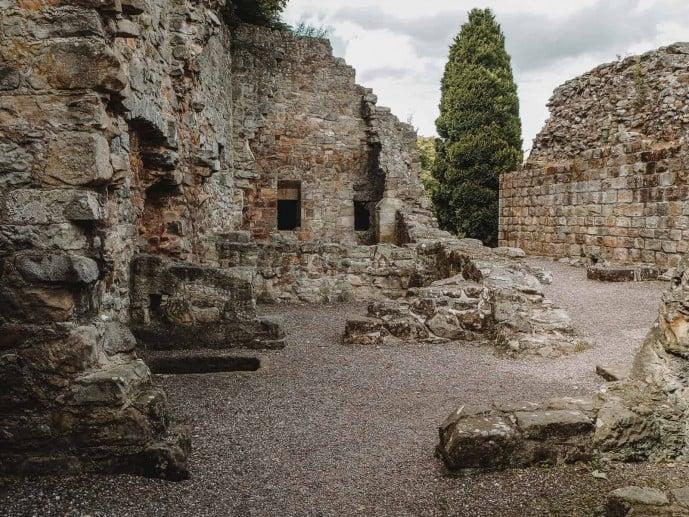 Aberdour Castle ruins