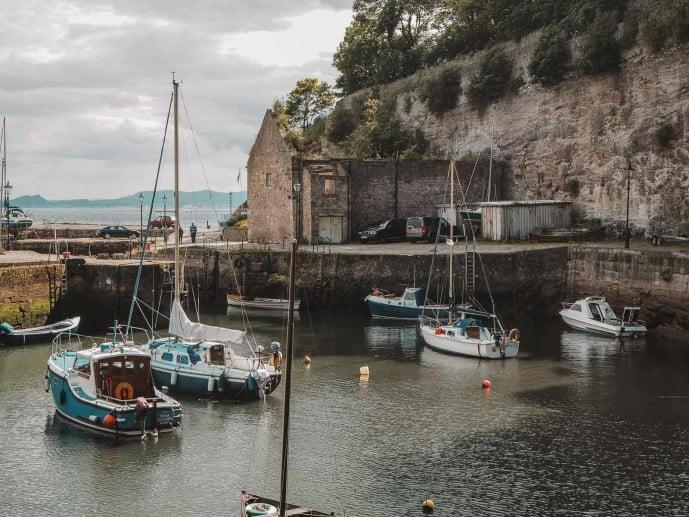Dysart Harbour outlander location