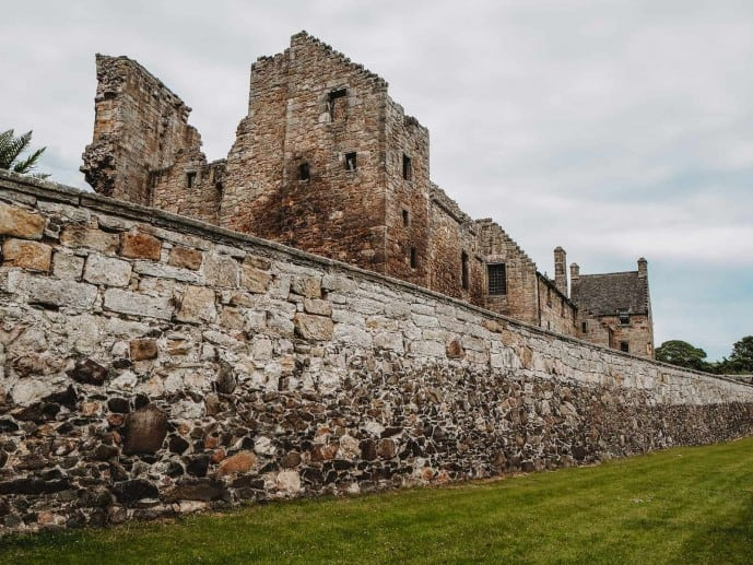Aberdour Castle Outlander location