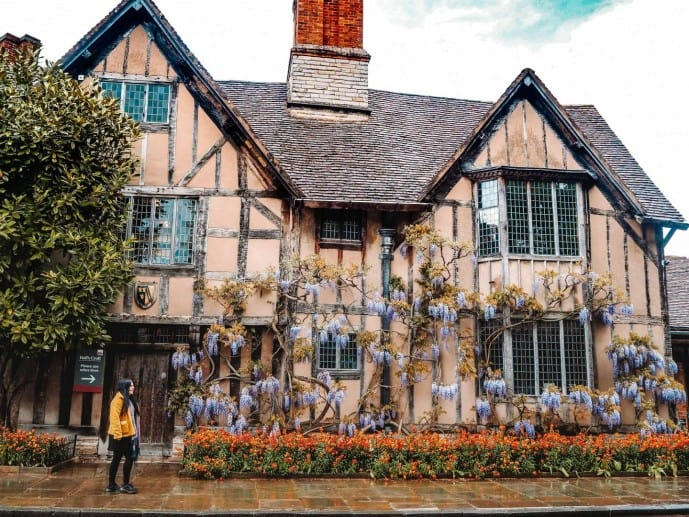 shakespeare places in stratford