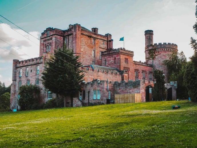 Dalhousie Castle Outlander