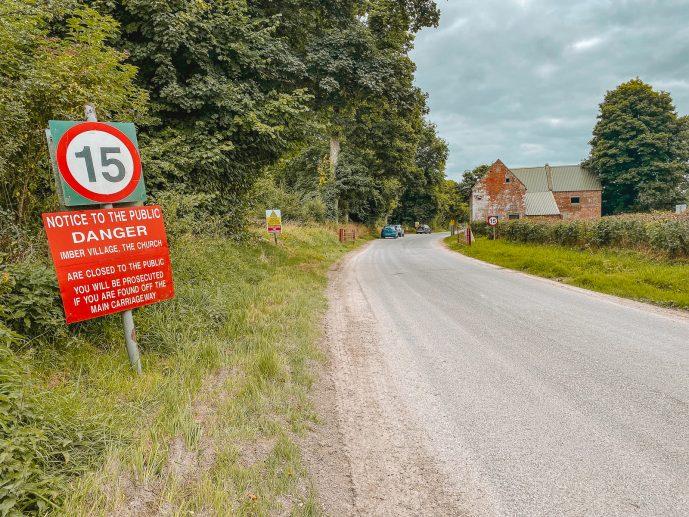 Imber village forbidden warning