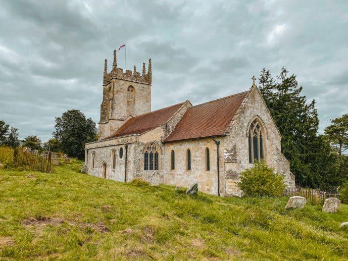 St Gile's Church Imber