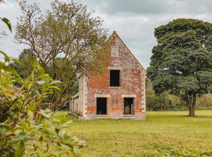 Seagram's Farm Imber Village Wiltshire