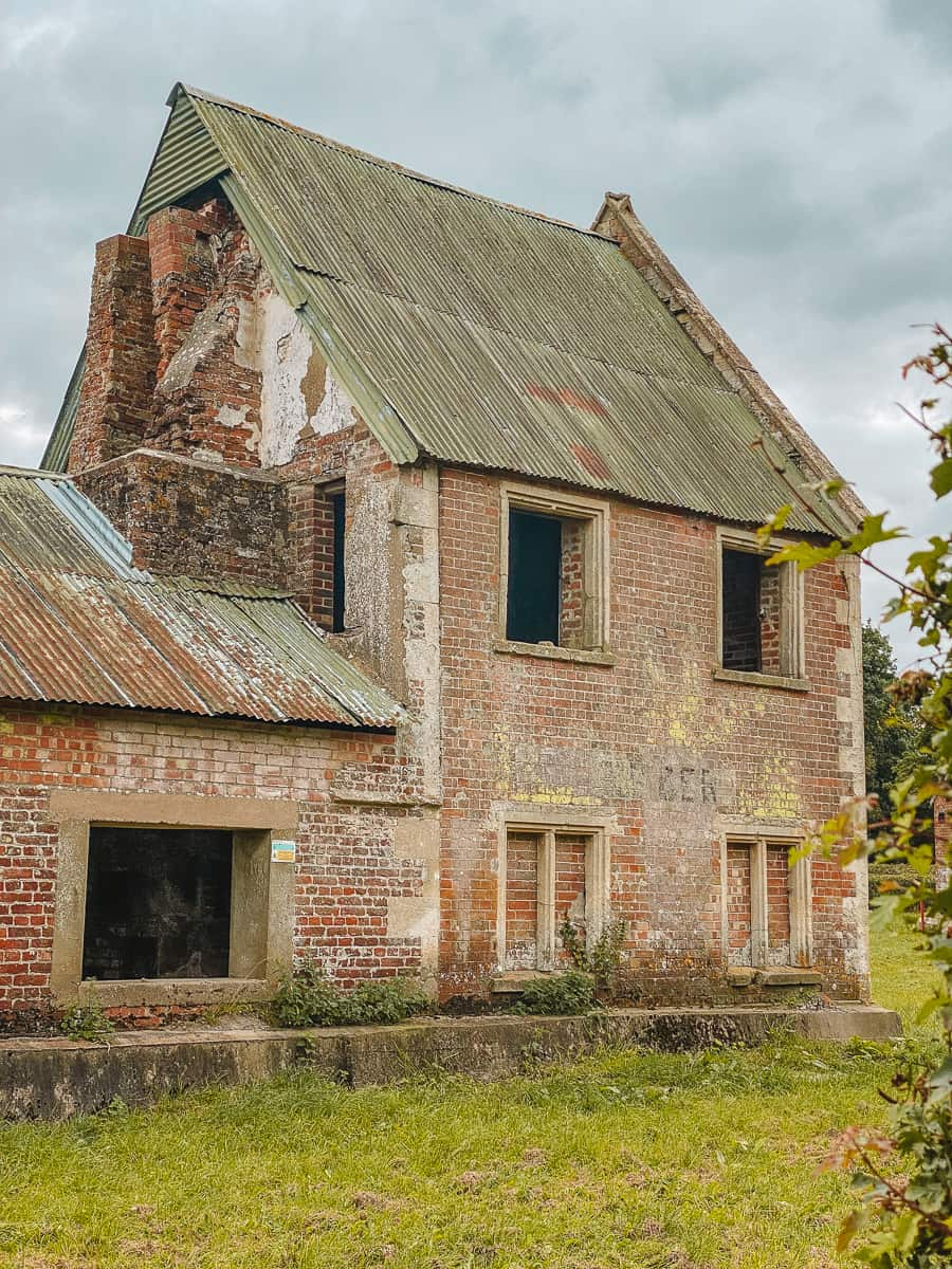 Abandoned Imber Village Wiltshire Seagrams Farm
