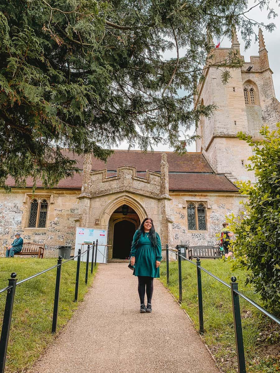 Imber Church Salisbury Plain Wiltshire