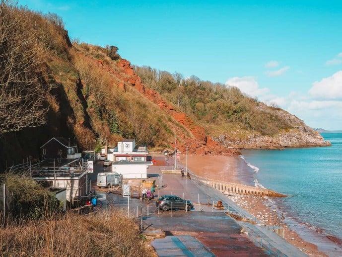 Oddicombe Beach Devon