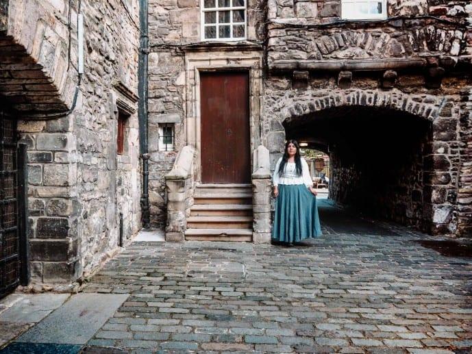 bakehouse close edinburgh outlander print shop a malcolm