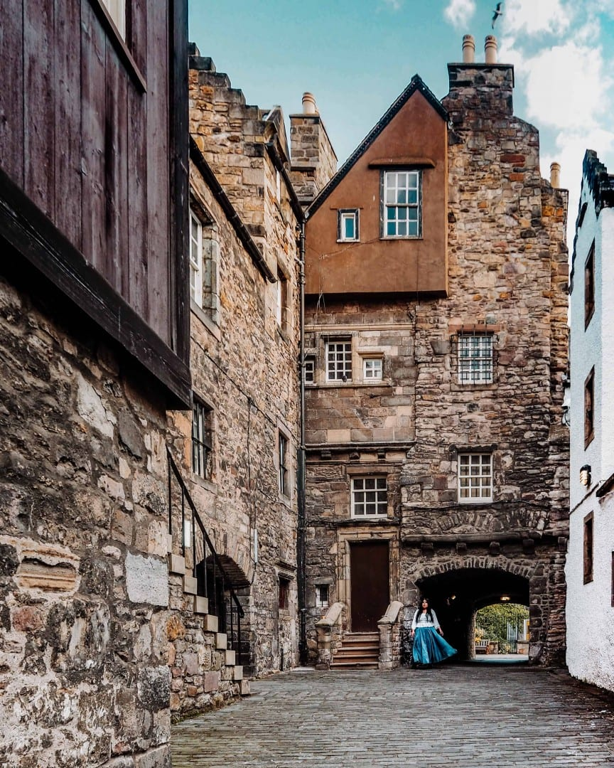 bakehouse close edinburgh outlander print shop a malcolm