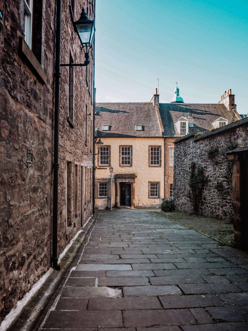 Outlander locations in Edinburgh