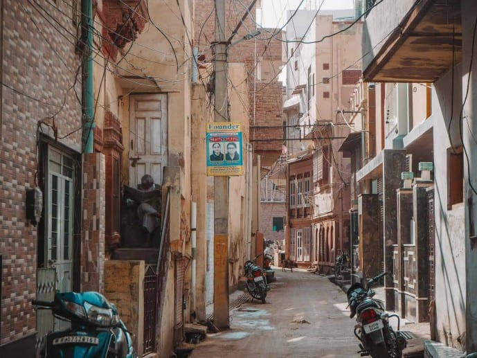 Bikaner Old Town Walled City