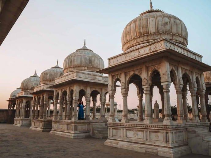 Bikaner Royal Cenotaphs | Places to visit in Bikaner