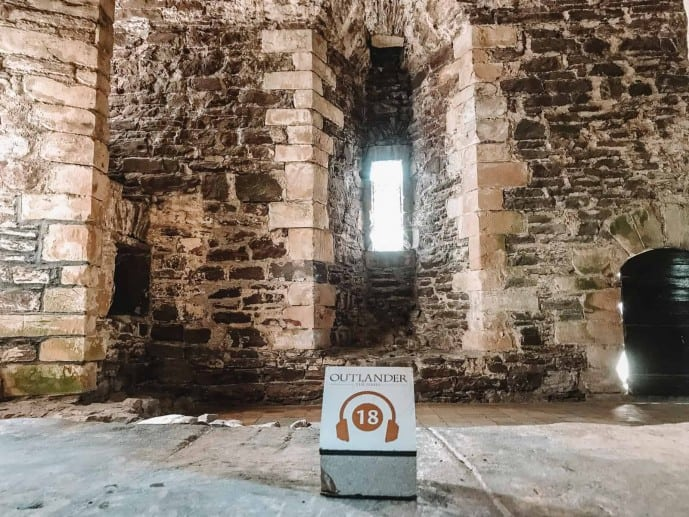 Doune Castle Outlander Audio Guide in Sam Heughan's voice