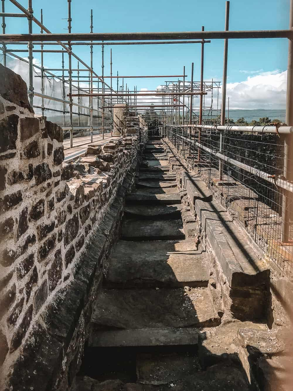 Castle Leoch Walls Doune Castle