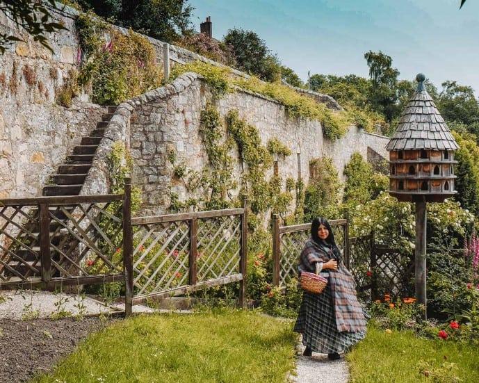 Culross Palace Gardens Outlander