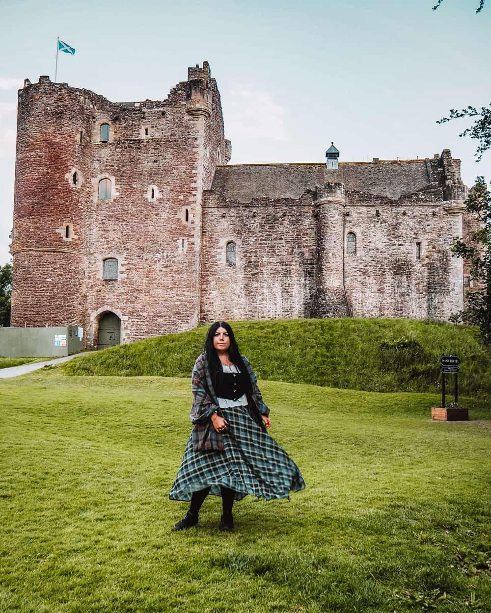Castle Leoch Doune Castle Outlander